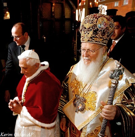 Pope and Archbishop of Constantinople