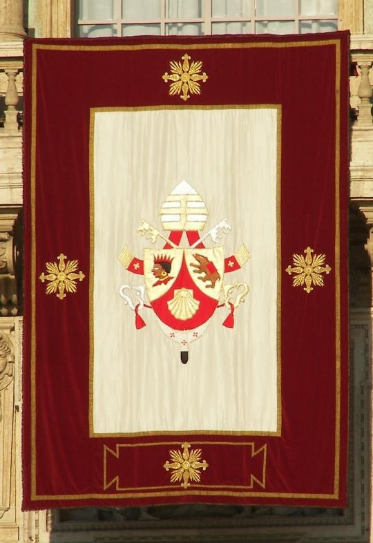 Pope Benedict-Papal Crest