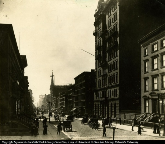 Astor Residence and Waldorf Hotel
