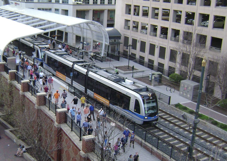 Charlotte Light Rail In Pineville Photograph by Joseph C ...