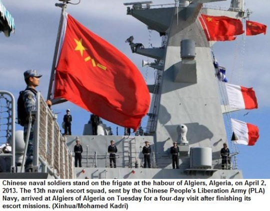 Chinese navy in Africa 1