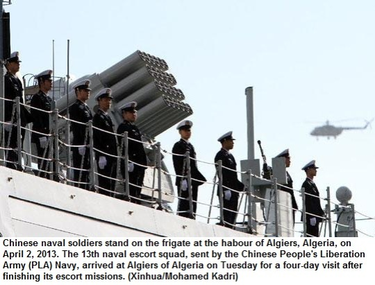 Chinese navy in Africa