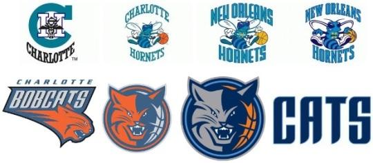 Hornets Bobcats Logo