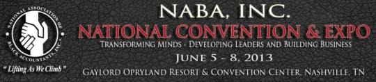 National Association of Black Accountants Conference 2013 Nashville