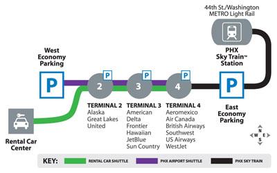 Atlanta Airport Map Skytrain