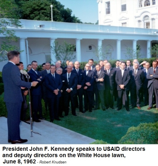 President John F Kennedy USAID