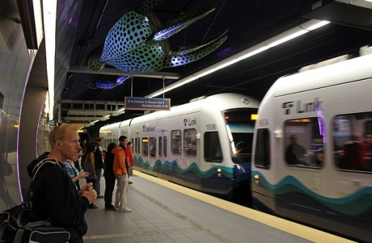 Seattle Light Rail Subway
