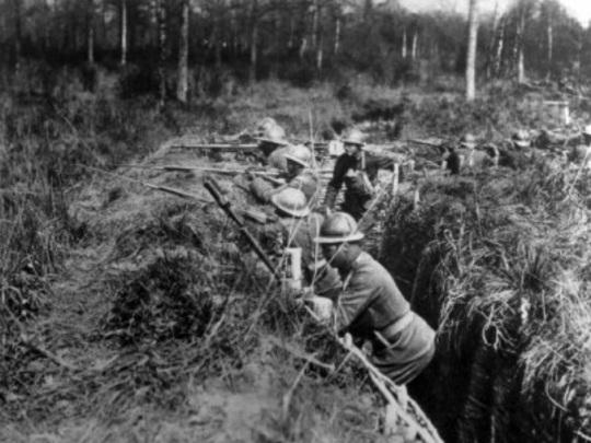 African Americans World War I