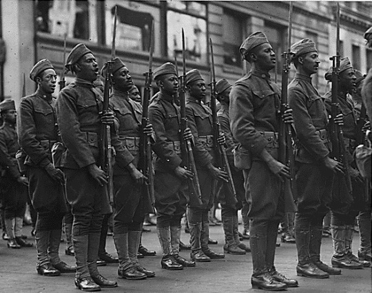 African Americans World War I