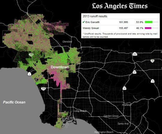City of Los Angeles Election 2013