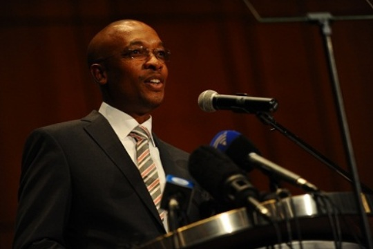 Johannesburg Executive Mayor Clr Mpho Parks Tau
