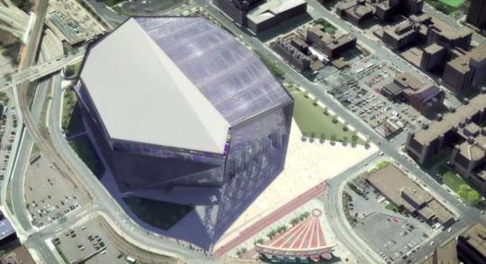 Minnesota Vikings stadium