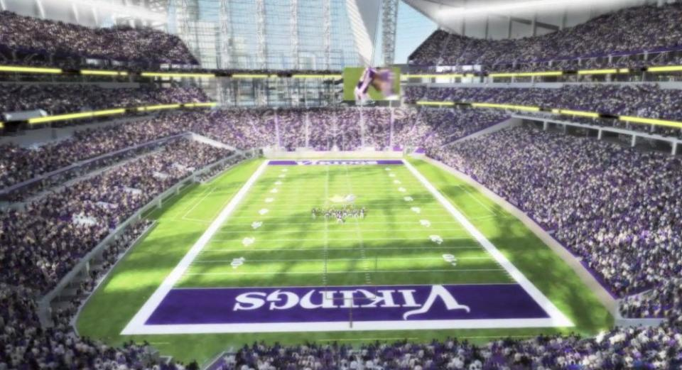 Minnesota Vikings New Nfl Stadium Design Unveiled Dilemma X