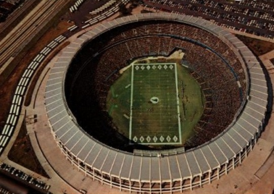 Atlanta Fulton County Stadium