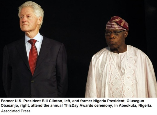 Bill Clinton -Nigeria 2013