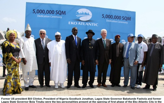 Bill Clinton -Nigeria 2013