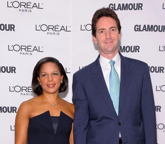 Dr. Susan Rice and Ian Officer Cameron