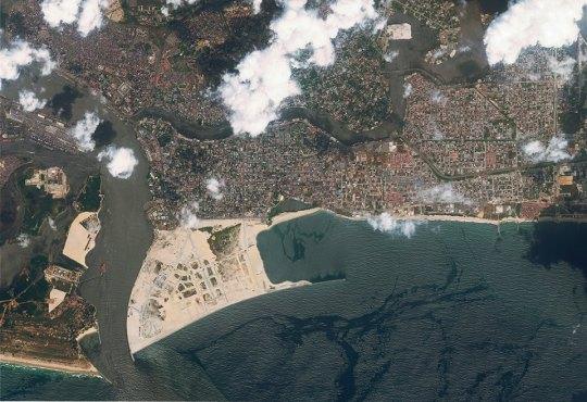 EKO ATLANTIC Aerial View 2015