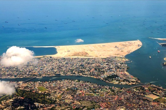 Eko Atlantic Aerial