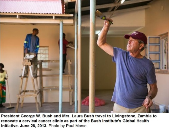 George W. Bush Zambia