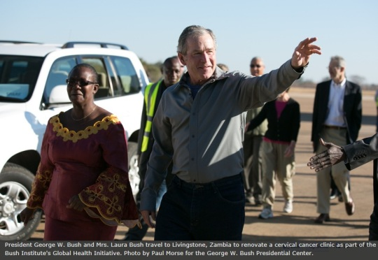 George W. Bush Zambia