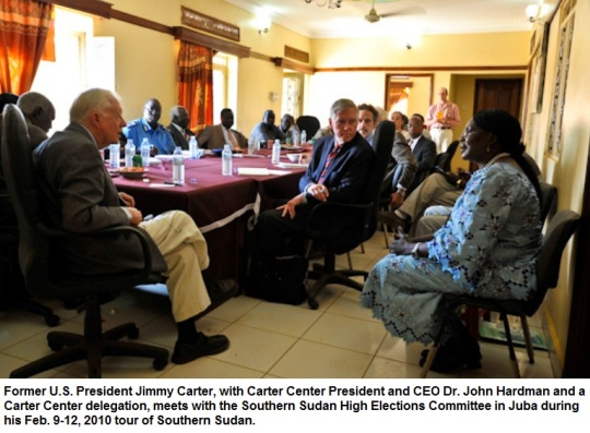 Jimmy Carter in Sudan