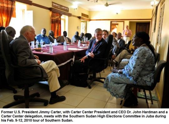 Jimmy Carter in Sudan