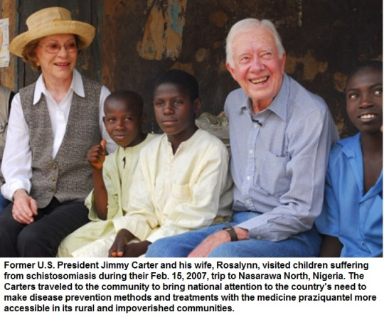 Jimmy Carter in Nigeria