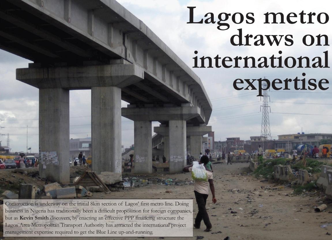 Nigeria Lagos Light Rail Phase I Lagos Rail May Begin