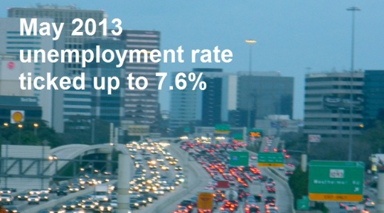 May 2013 Unemployment