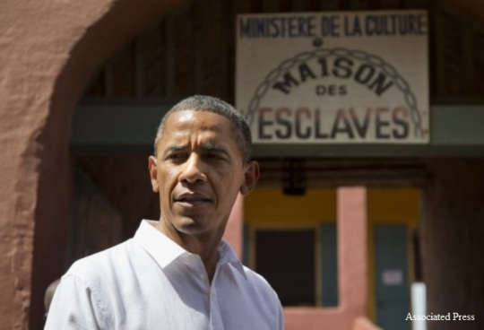 Obama Goree Island