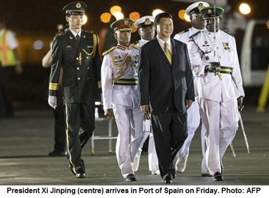 President Xi Jinping visiting Caribbean