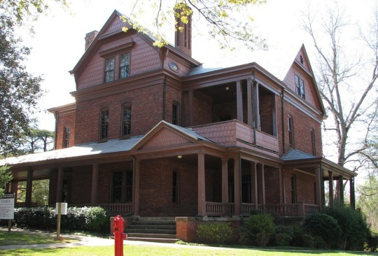 Tuskegee Booker T Washington Home-The Oaks