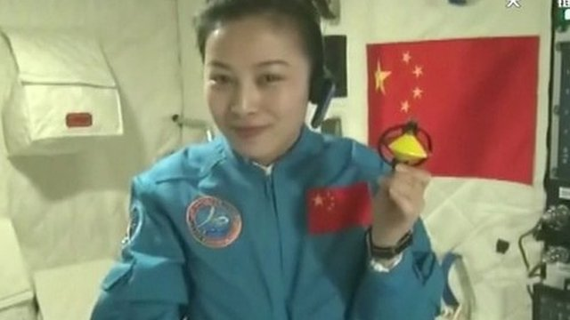 China's 2nd woman astronaut Wang Yaping delivers space ... Wang Yaping