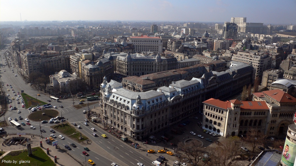 Romania's population decreases due to outbound migration