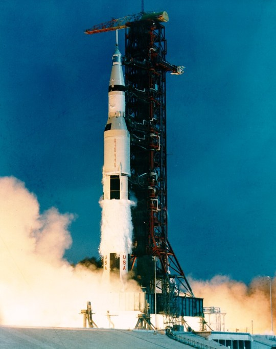 Liftoff of Apollo 11 July 16, 1969