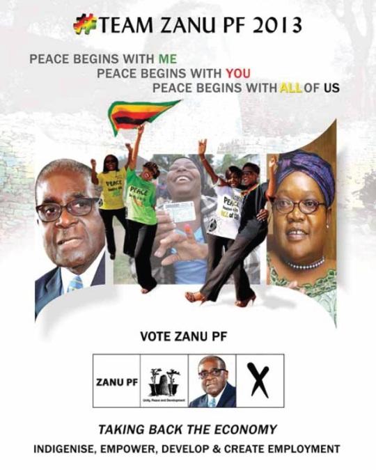 Zimbabwe Election ZANU-PF