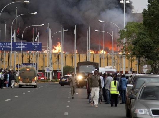 Nairobi Jomo Kenyatta International Airport