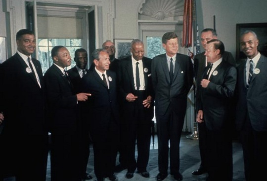 Martin Luther King Jr -Civil Rights Leader - President Kennedy