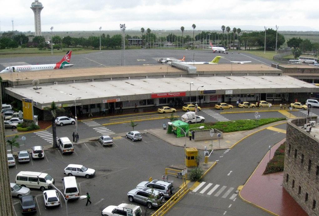 Aeroporto Nairobi : Kenya nairobi jomo kenyatta international airport ruined