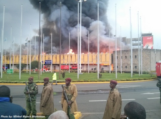 Nairobi Jomo Kenyatta International Airport fire