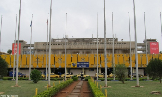 Nairobi Jomo Kenyatta International Airport Terminal