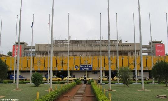 Nairobi Jomo Kenyatta International Airport Terminal
