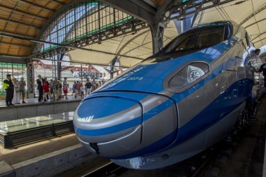 Poland Pendolino Train