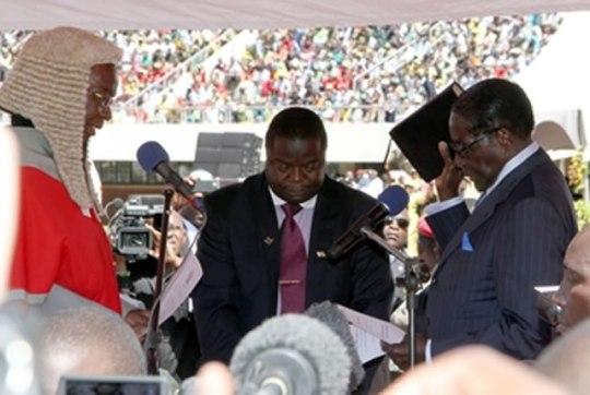 Robert Mugabe sworn-in