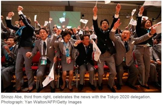 IOC Winning Bid City Tokyo