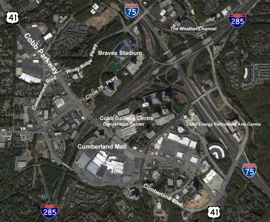 new Atlanta Braves Stadium Site