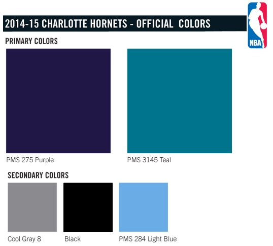 Charlotte Hornets Colors