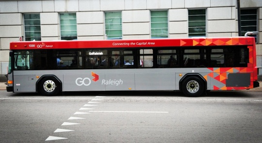 GoRaleigh Bus