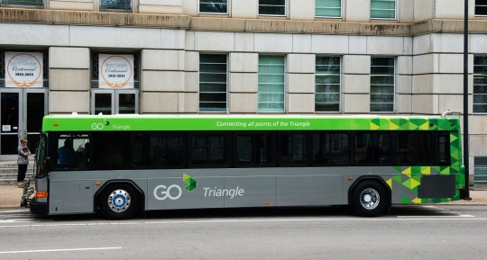 Go Triangle bus